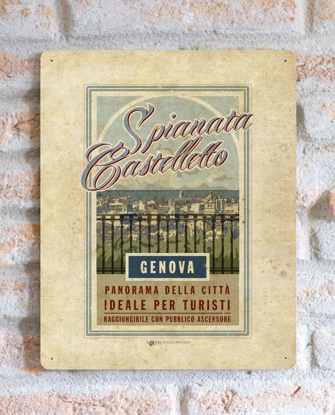Spianata Castelletto | TARGA | Vimages - Immagini Originali in stile Vintage