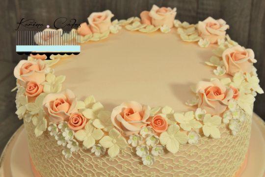 Svadobná torta pre Veroniku - Wedding Cake