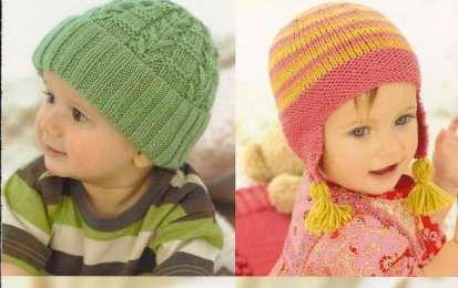 Schemi maglia: realizzare un cappellino per neonato [FOTO] - Se siete in attesa di un bambino o se dovete fare un regalo per una nuova nascita potete pensare al cappellino realizzato in lana. Lo schema è molto semplice, basta seguire alcune indicazioni e il gioco è fatto