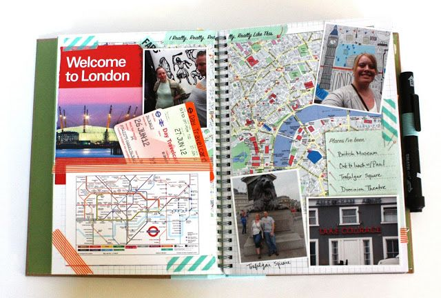 just what i {squeeze} in: Smashbooking Our Awesome Adventure!