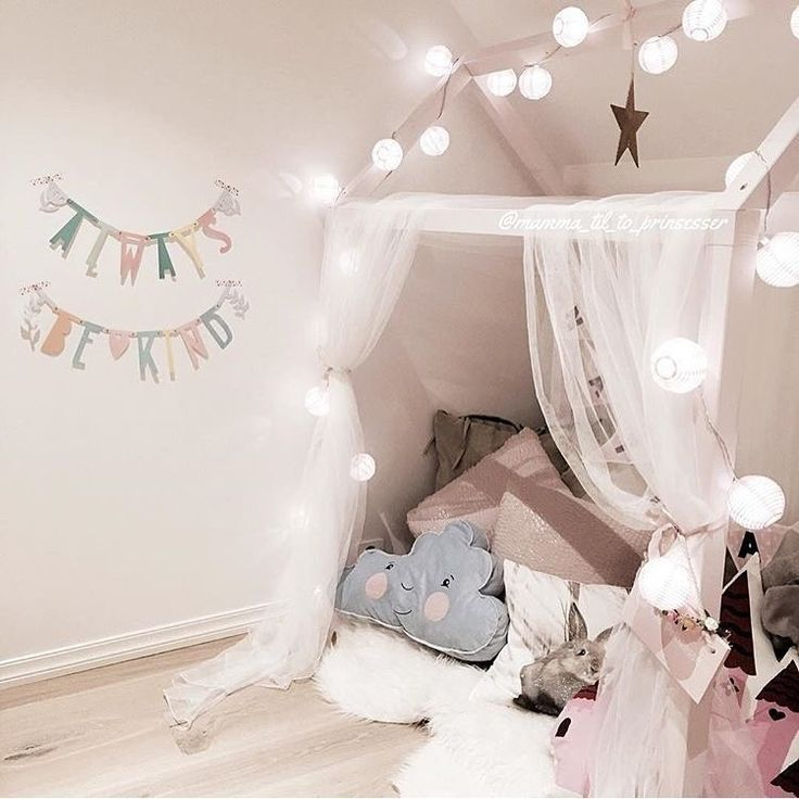 Looks like a little enchanted getawayTagged to us by @mamma_til_to_prinsesser #decorforkids... - Home Decor For Kids And Interior Design Ideas for Children, Toddler Room Ideas For Boys And Girls