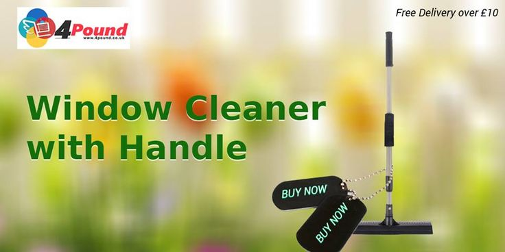 Shop now for Window Cleaner With Handle Only at Affordable Price Buy Now: http://www.4pound.co.uk/window-cleaner-with-handle