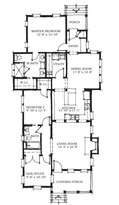 282 Best Cottage Plan Favs Images On Pinterest