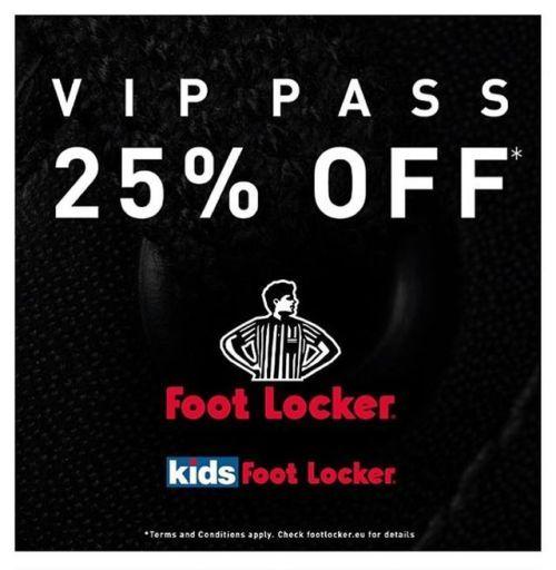 Foot Locker Europe – 25% Rabatt auf (fast) ALLES! 😍 Sagt Euren...