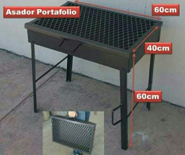 Asador Portafolio - $ 600.00 en MercadoLibre
