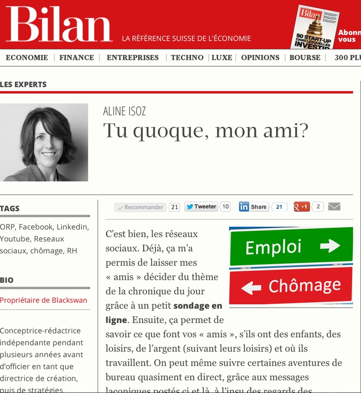Chronique Bilan