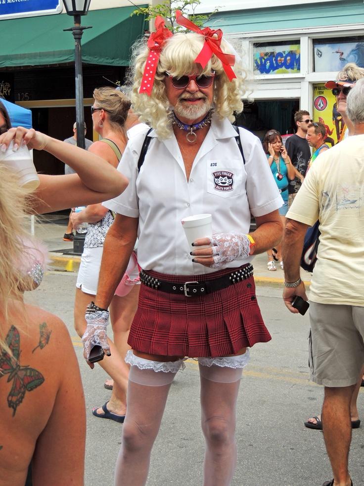 Key West Florida - Fantasyfest 2012. Schools out in Key West!