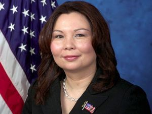 Tammy Duckworth  - She lost her legs piloting a Blackhawk helicopter through an insurgent attack in Iraq. In January, using prosthetic legs, she will step onto the floor of the US House of Representatives as the first combat-injured female member of Congress