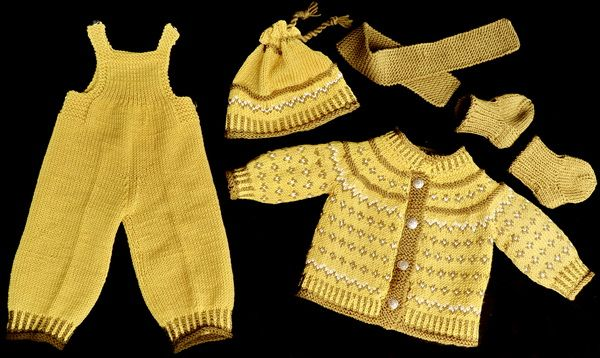 Mønster til Baby born dukkeklær