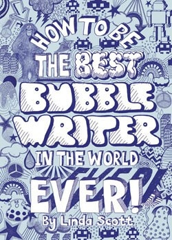 How to Be the Best Bubblewriter in the World, Ever! - DIY Bubble Writing Tutorial   #GiveBooks @Juanita Martin charlotte