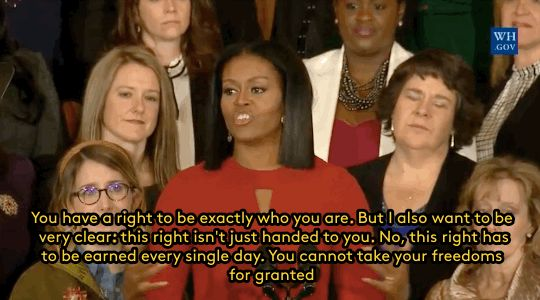 refinery29:  Michelle Obama on the power of education and hope as the most important tools you can have in your arsenal to make a better world See 20 more reasons why well miss Michelle Obama like crazy.  Gifs: Whitehouse.gov  FOLLOW REFINERY29