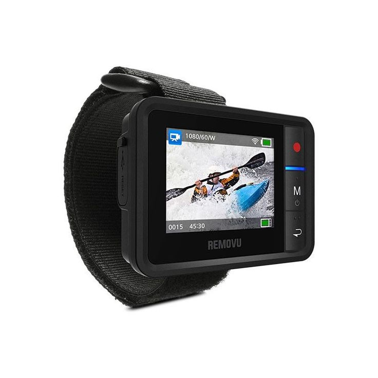 See what your GoPro sees while accessing all of its settings and recorded clips with this wearable, waterproof LCD remote viewfinder.