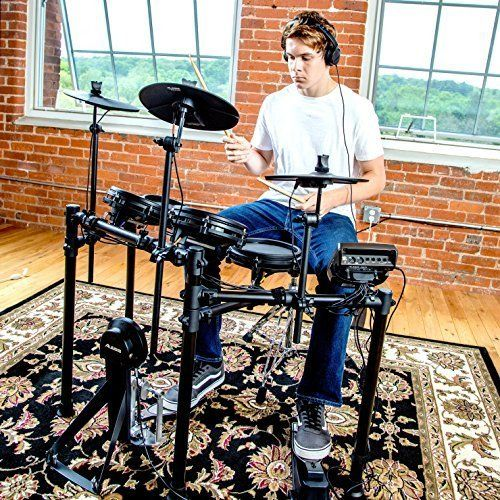 Alesis Drums Nitro Mesh Kit | Eight Piece All-Mesh Electronic Drum