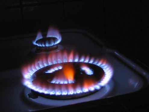 Bob's Tip of the Day: If you smell gas, hear the hissing sound of escaping gas, or see a broken or cracked gas pipe, the most important thing to do is open a window and get everyone out of the house. Once you're out of the house and a safe distance away, call the gas company or 911. Don't use your home's landline or your cell phone while you're in the house, since sparks from a telephone can ignite gas.