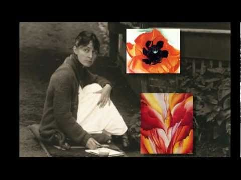 3:37 Georgia O'Keeffe video AVP Georgia O'Keeffe -Life and Art - YouTube