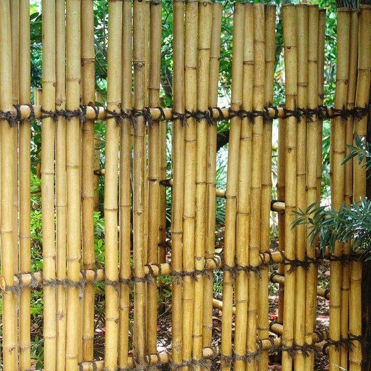 25+ Best Ideas About Bambuszaun On Pinterest | Sichtschutz Garten ... Umweltfreundliche Gartengestaltung