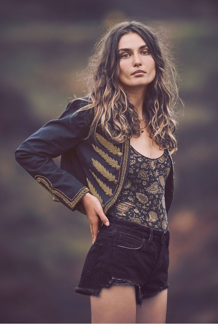 Andreea Diaconu for Free People April 2016