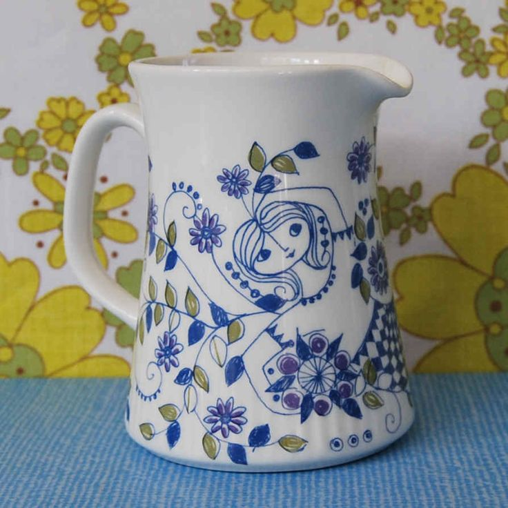 "Vintage Figgjo Flint Turi ""Lotte"" Jug by Little Toucan"