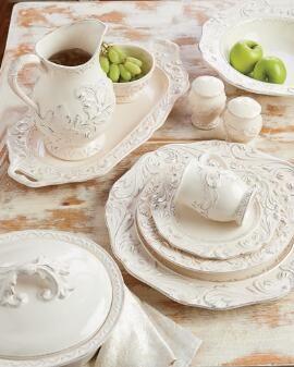Firenze Ivory Dinnerware & Serveware Collection