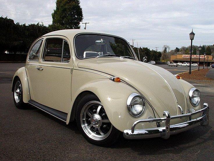 L620 Savanna Beige '67 Beetle | 1967 VW Beetle.