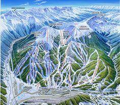 copper mountain colorado | Mountain Colorado Illustration by James Niehues - Copper Mountain, CO ...