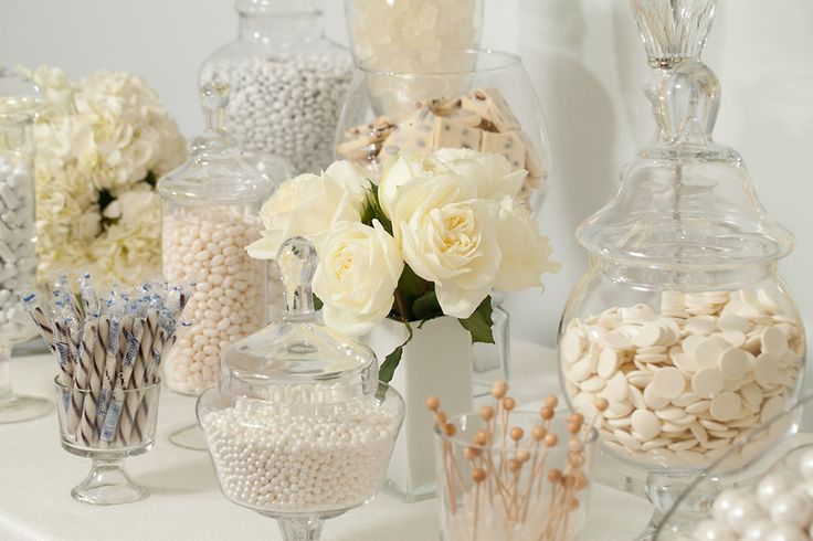 White Candy Buffet — Candy Buffets — Weddings & Events — Nuts.com