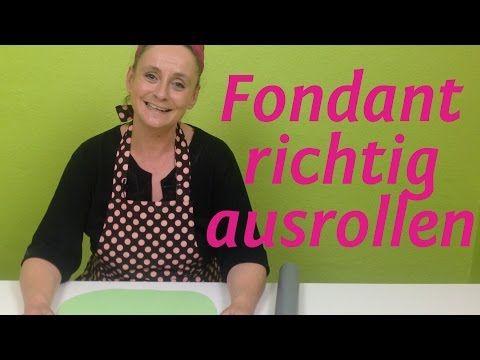 Fondant kneten - So wird Fondant weich und geschmeidig ohne zu kleben - YouTube