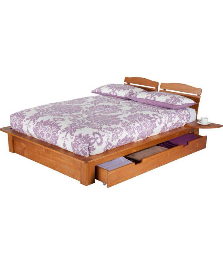Devon king size bed frame from argos wooden bedroom for Divan bed frame argos