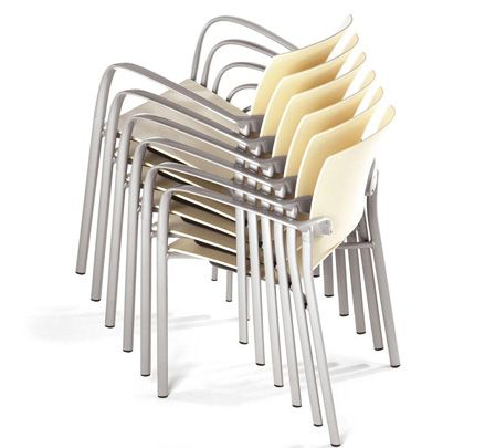Long lasting, resistant and recyclable materials are employed in the various manufacturing processes that guarantee utmost quality. A transport trolley for the Eina stacking chairs is also available. http://www.zenithinteriors.com.au/product/583/eina-armchair