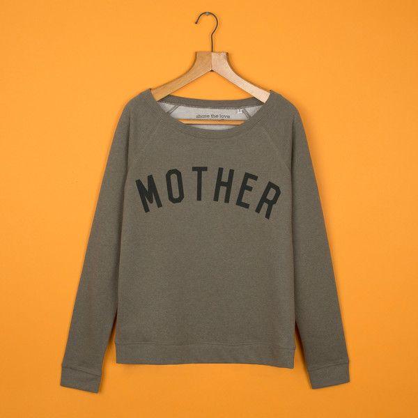 MOTHER Moss Scoop Neck Sweatshirt