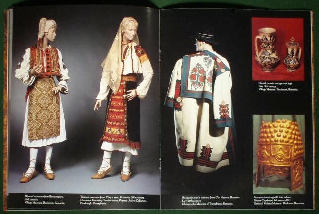 Romanian Costume Exhibition   Kent State University 1991  USA   #Romania #RomanianBlouse