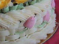 Tarta de Flores: capullo de rosas