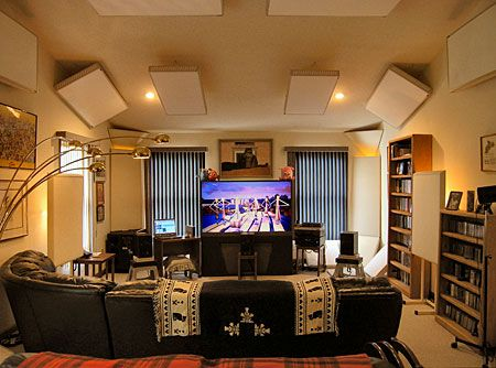 Captivating Home Theater Decoration Should Be Made As Elegant And Also Dark As  Possible. It Means That You Should Avoid Colorful Decorations.