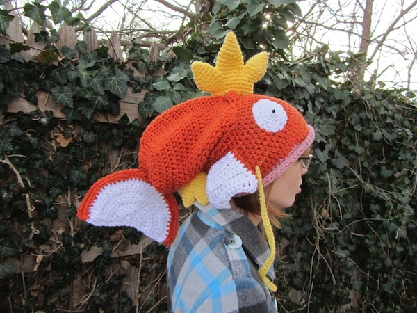 Crocheted Pokémon Magikarp Hat