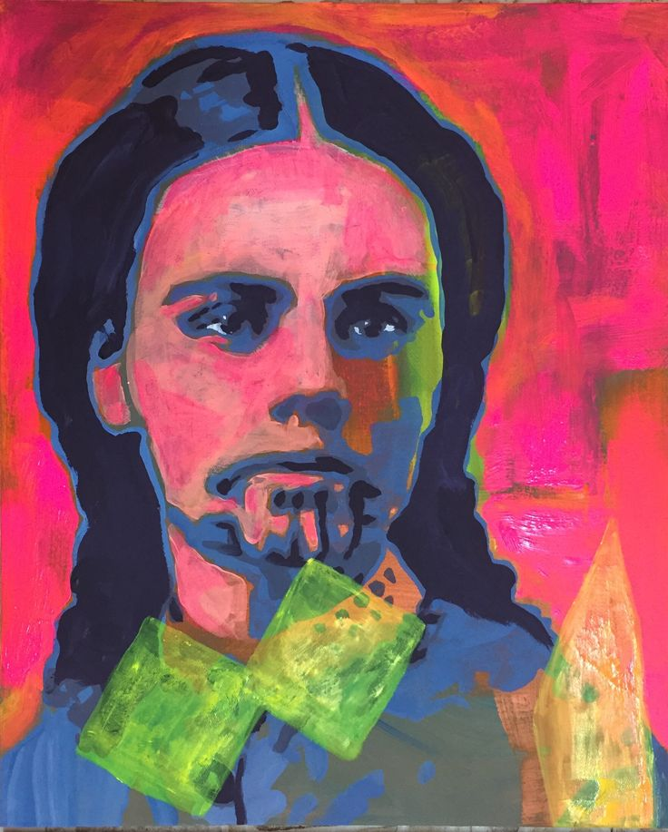 Olive Oatman Martina's Art Studio acrylic painting