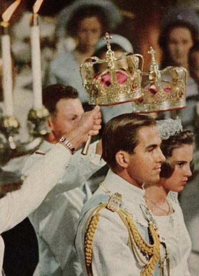 Wedding of King Constantine of Greece and Princess Anne-Marie Dagmar Ingrid of Denmark