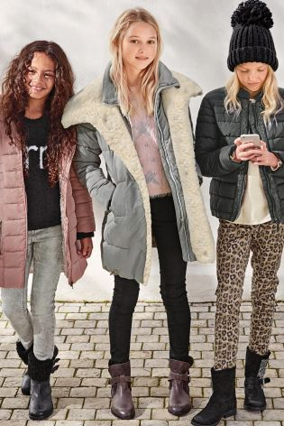 Girls Next Coat | Down Coat