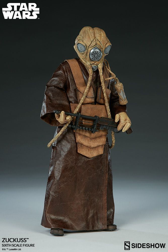 Star Wars Zuckuss Sixth Scale Figure by Sideshow Collectibles