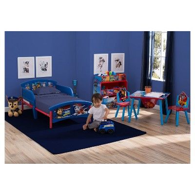 Delta Children Nick Jr. Paw Patrol Plastic Toddler Bed,