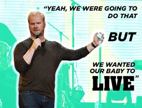 Jim on people's reactions when they learn the Gaffigan's delivered their kids at home. If you plan on a home delivery, why not watch THE JIM GAFFIGAN SHOW starring Jim Gaffigan. Discover full episodes at http://www.tvland.com/shows/the-jim-gaffigan-show.