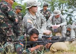 Tentara AS melatih tentara Filipina