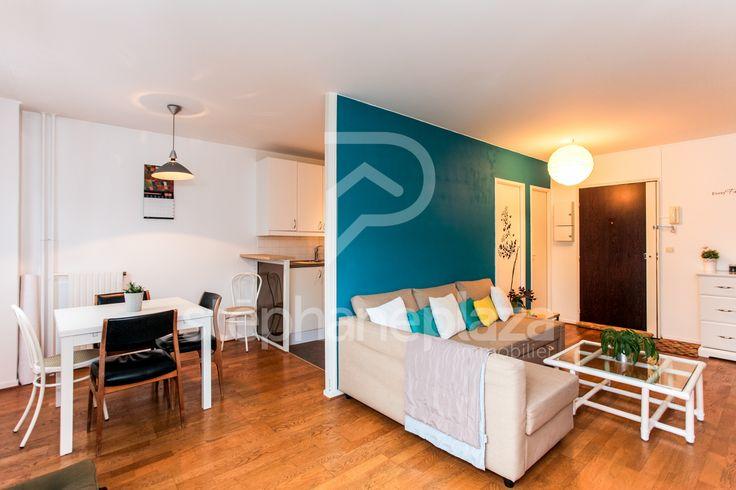 L'agence Stéphane Plaza Immobilier de Levallois vous présente en exclusivité cet appartement de 3 pièces en étage élevé. Appartement comprenant grand séjour donnant sur cuisine aménagée, 2 belles chambres, salle de bains, wc, placards. Appartement en parfait état et très lumineux sans vis à vis.