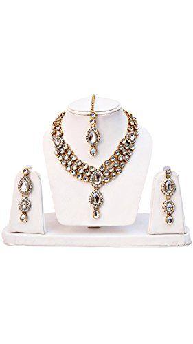 Elegant Indian Bollywood Deepika Padukone Inspired Kundan... https://www.amazon.com/dp/B06ZYKXKZZ/ref=cm_sw_r_pi_dp_x_rbwbAbW9K2JPR