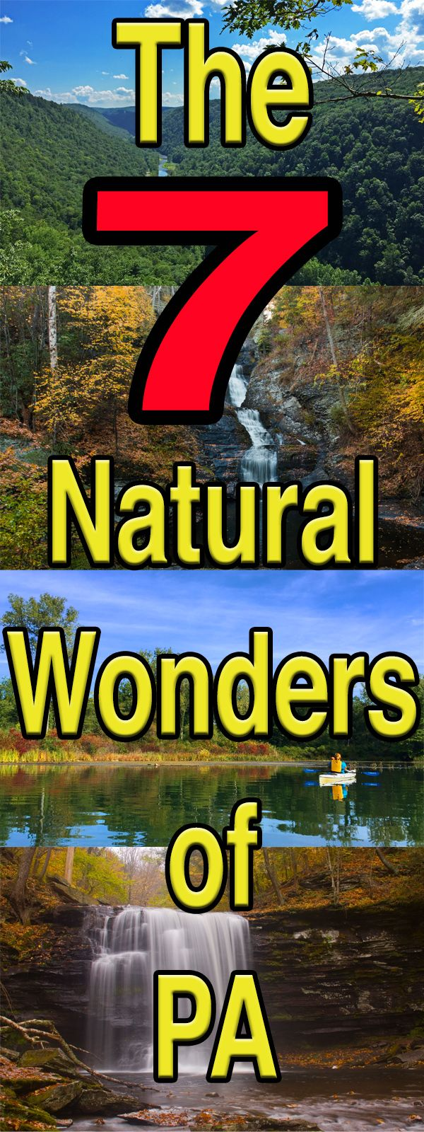 Pennsylvania is home to many beautiful sites, but these seven stand out as the best natural destinations in PA: http://uncoveringpa.com/7-natural-wonders-of-pennsylvania