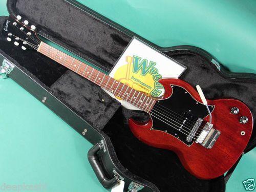 GIBSON-SG-JR-CH-1969-EX-W-HC-Electric-guitar