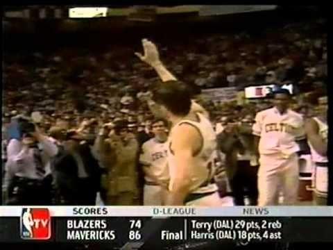 Video: John Havlicek's last game