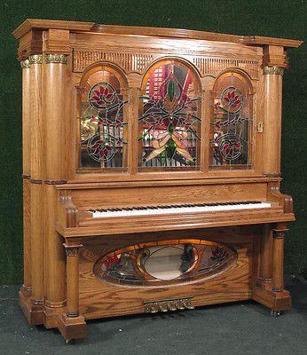 Nickelodeon Music Box Jukebox Player Piano | eBay