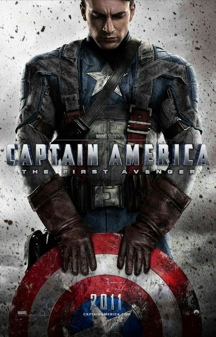 Portada Capitan America The First Avenger Avengers Movies Captain America Marvel Movie Posters
