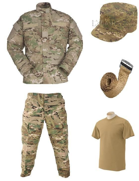 US Army Pre shaped, pre shaven, inspection ready black beret: MultiCam® OCP Army Combat Uniform Coat