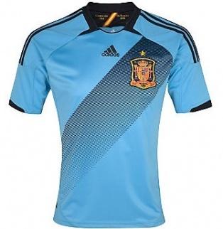 Spain 2012-13 Away Shirt